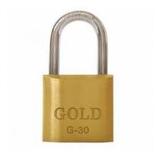22-2766 - CADEADO  30 MM GOLD