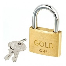 22-0215 - CADEADO  45MM GOLD