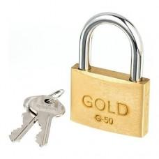 22-2769 - CADEADO  50MM GOLD