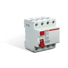 11519 - INTERRUPTOR DIFERENCIAL RESIDUAL 4 POLOS 63A 30MA DR STECK