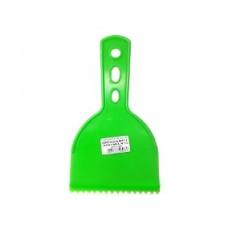 12330 - BETUMADEIRA ESPATULA DE 8 CM PLASTICA DENTADA COMPEL