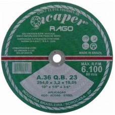 15406 - DISCO DE CORTE PARA FERRO 10 X 5/8 ICAPER