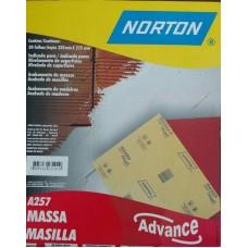 22-0717 - LIXA MASSA 50 COM 50 FOLHAS NORTON