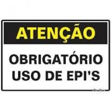 14772 - PLACA USO OBRIGATORIO DE EPIS 20 X 30 3018