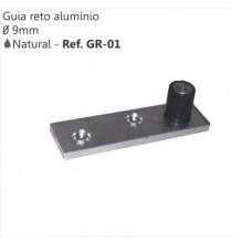 17960 - GUIA RETO ALUMINIO GR01 PERFIL INDUSTRIA