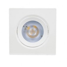 17753 - SPOT QUADRADO MOVEL LED 5W 6000K BF YINAITE